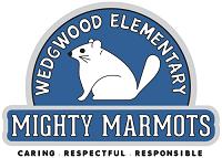 Wedgwood elementary Might Marmot logo